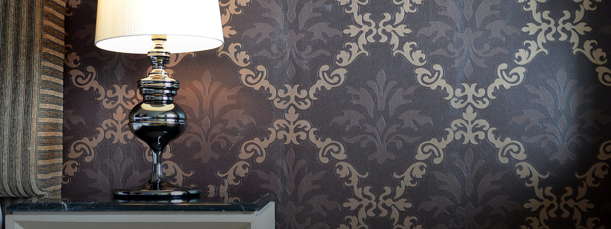 An Addition Of Wallpaper Can Enhance Your Home And Support Overall Style Creative Haus Designs Offers A Range Clic Unique Interior