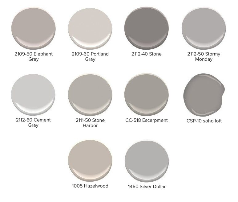List Of Red Undertoned Gray Paint