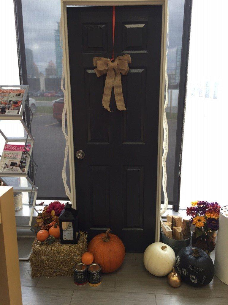Front Door Display 2127-30 Gravel Gray
