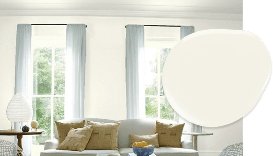 Cloud White paint in our top 10 Benjamin Moore whites list