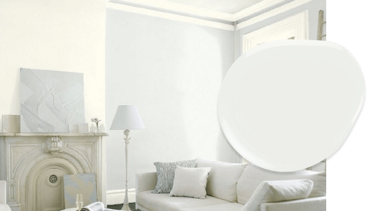 Decorators White paint in our top 10 Benjamin Moore whites list