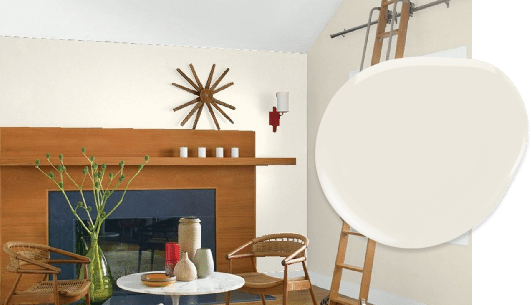 Dove Wing paint in our top 10 Benjamin Moore whites list