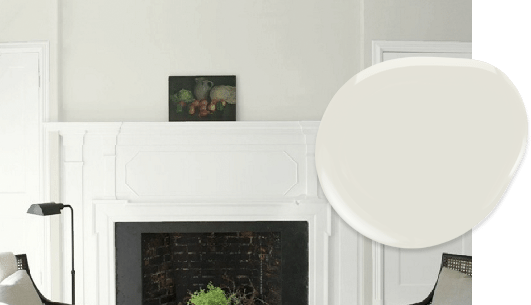 Intense White paint in our top 10 Benjamin Moore whites list