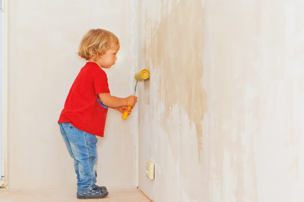 Spur Children Creativity for Painting Rooms