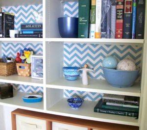 Wallpaper Backing Bookshelf
