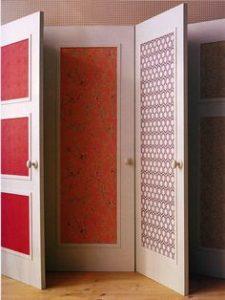 Wallpaper on Doors Panels or Full Length