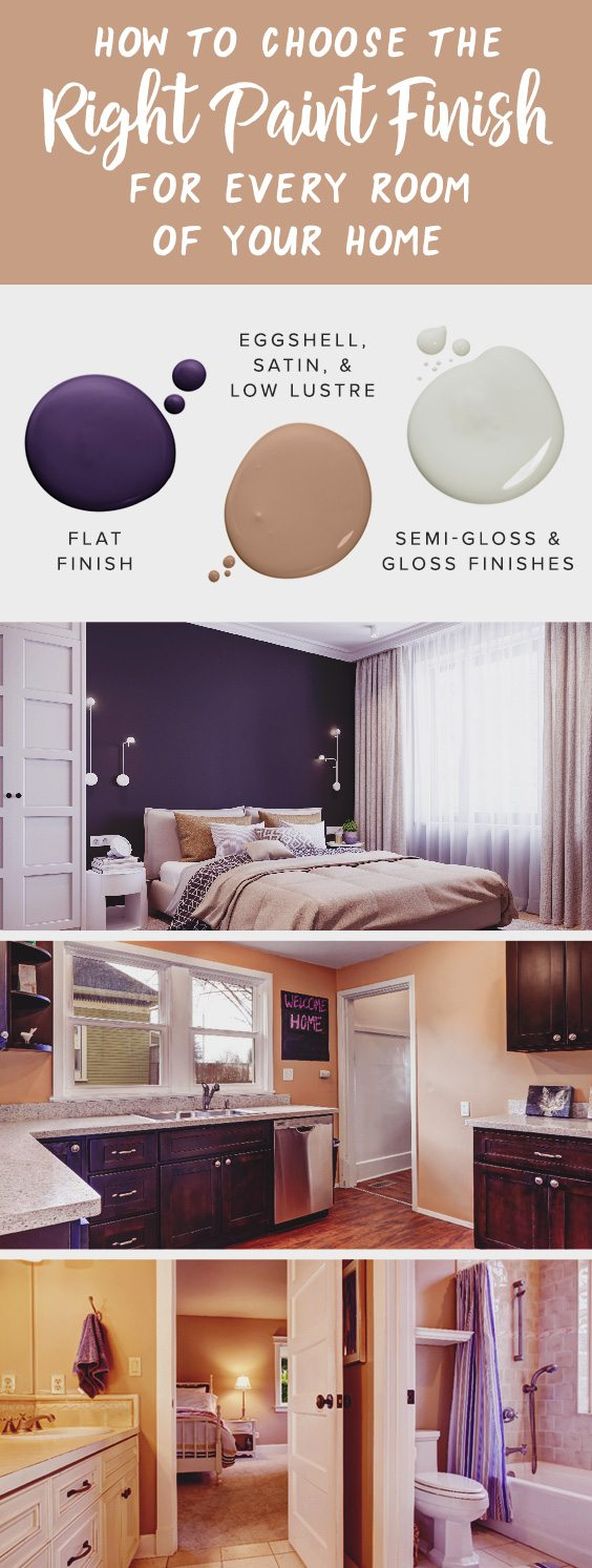 How to choose the right paint finish for every room of your home