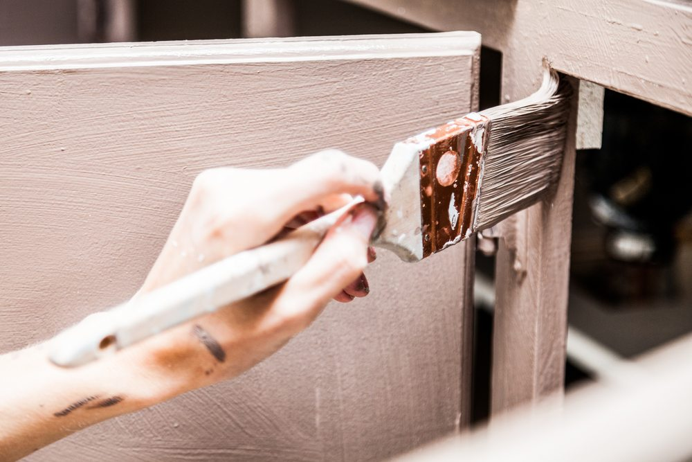 Updating your cabinets by simply painting