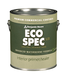 Eco spec latex primer the paint people - Benjamin moore exterior wood primer ...