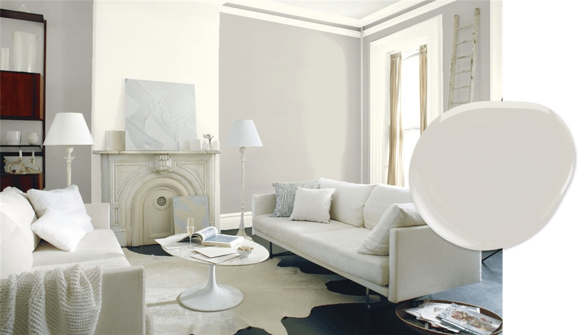 Barren Plain paint in our top 10 Benjamin Moore light neutrals list