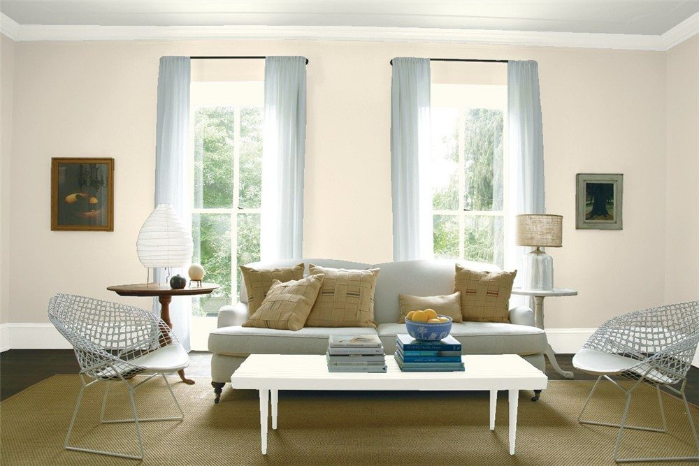 Top 10 benjamin moore light neutrals the paint people for Neutral off white paint