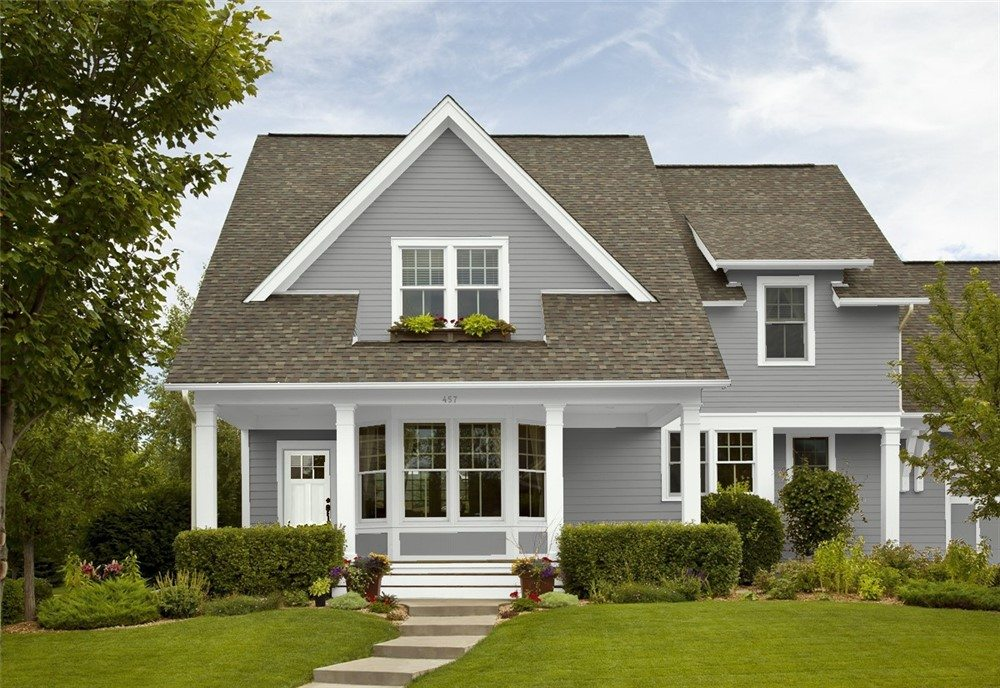 Great grays for exterior painting