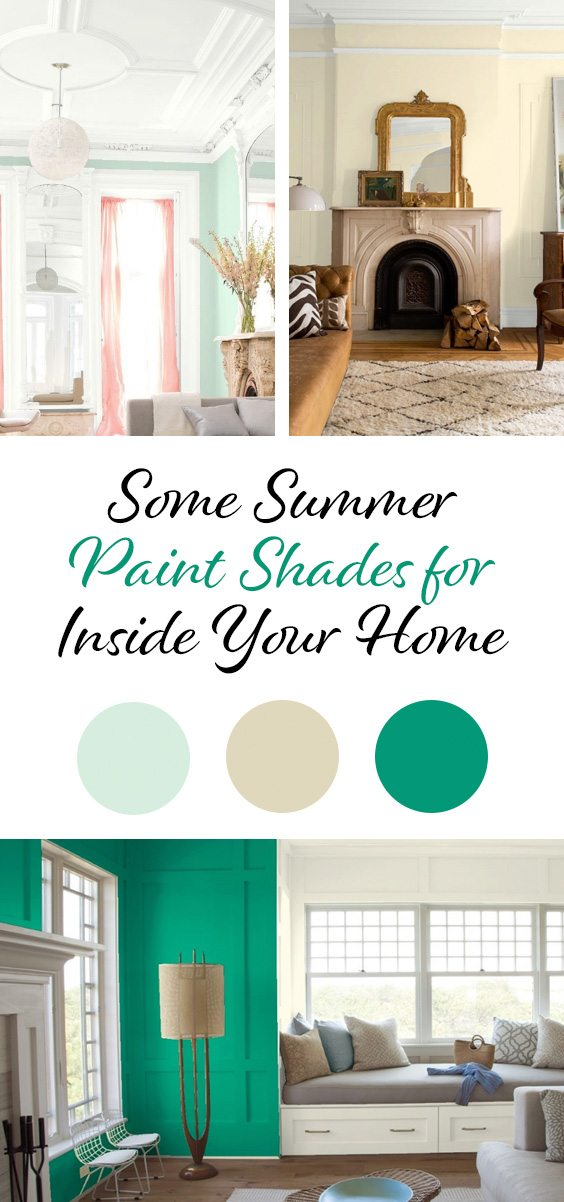 Benjamin Moore summer shades 2018 | The Paint People