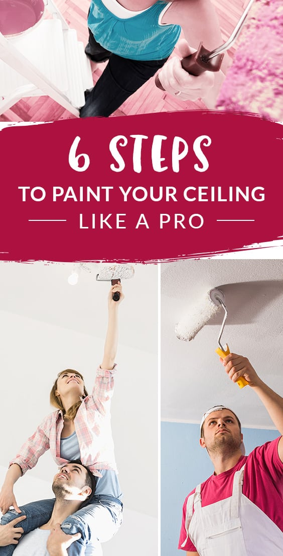 Steps to paint your ceilings | The Paint People
