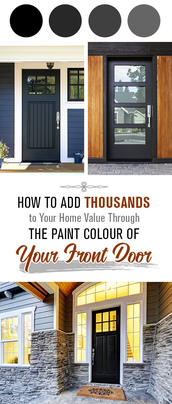 Paint colour of your door can add thousands to your home's value | The Paint People