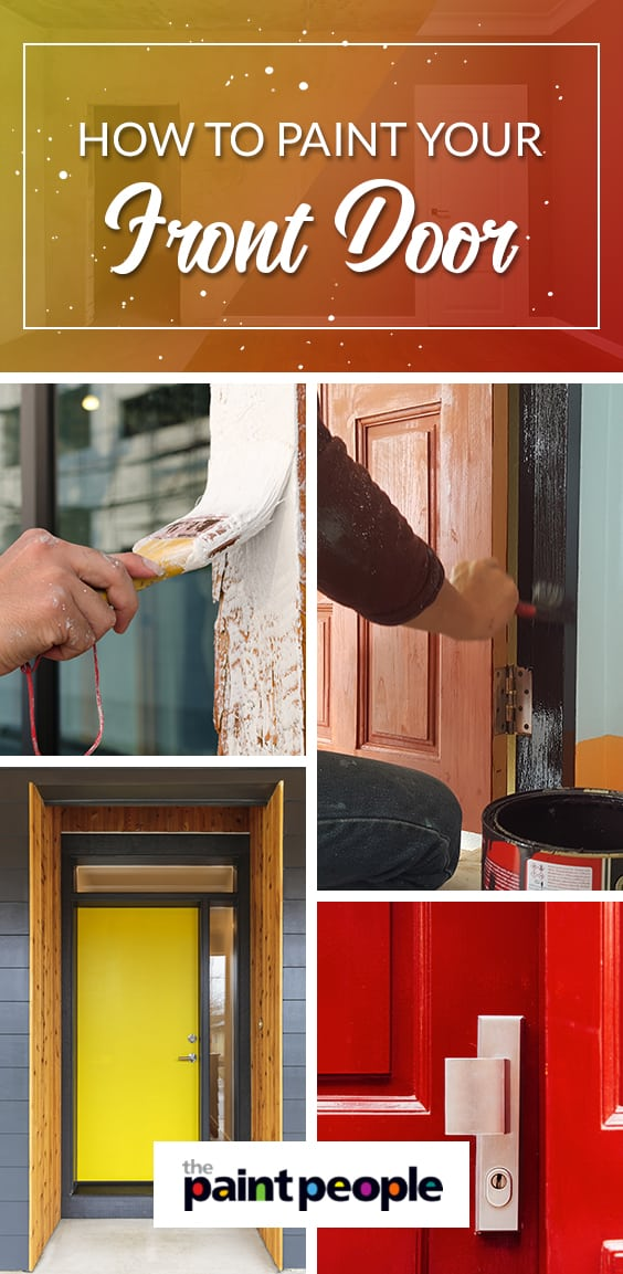 Painting your front door | The Paint People