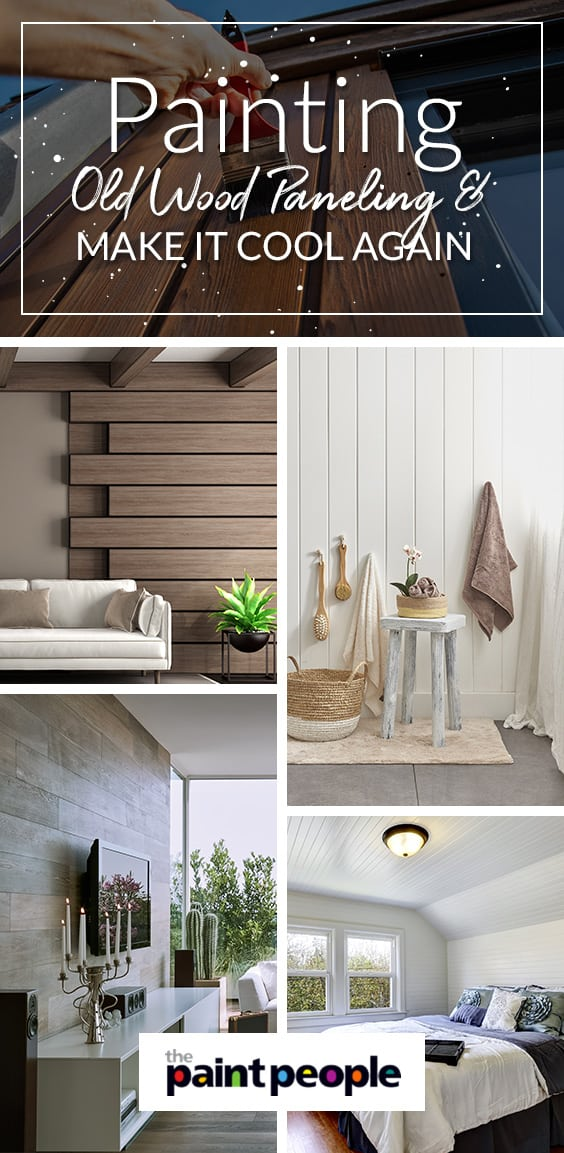 Paint Old Wood Paneling | The Paint People