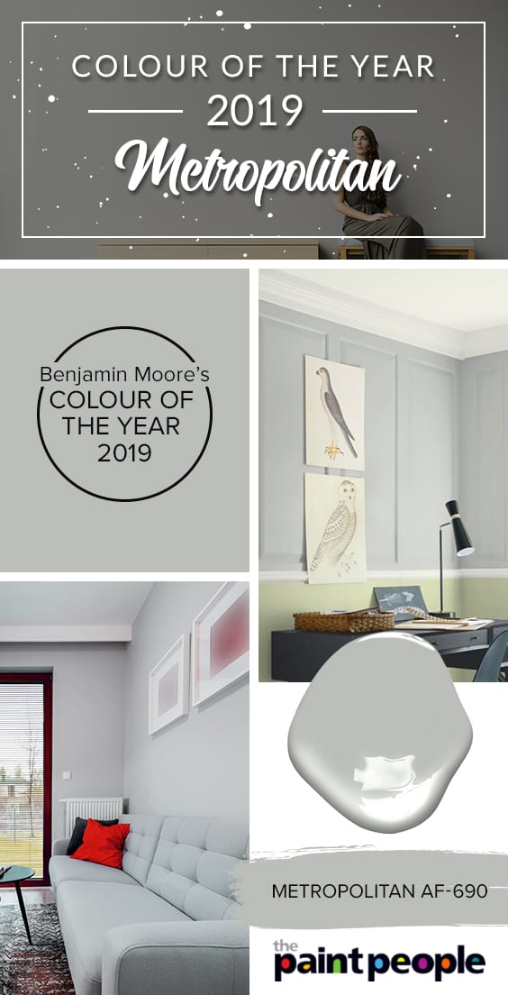 The Paint People introduces Benjamin Moore's Colour of the Year for 2019 - Metropolitan