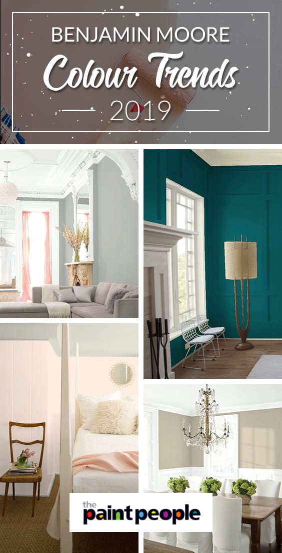 Benjamin Moore 2019 colour trends to be excited for according to The Paint People